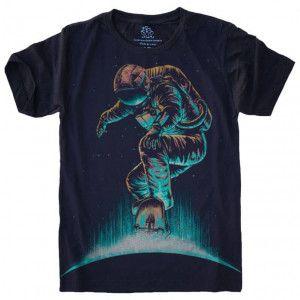 Camiseta Astronauta Skate S-453