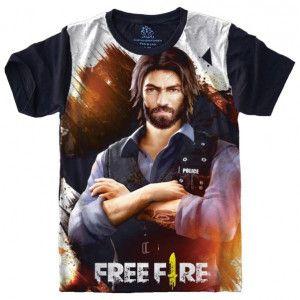 Camiseta Free Fire S-515