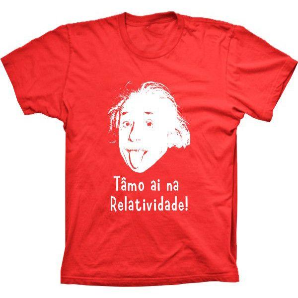 Camiseta Einstein Relatividade