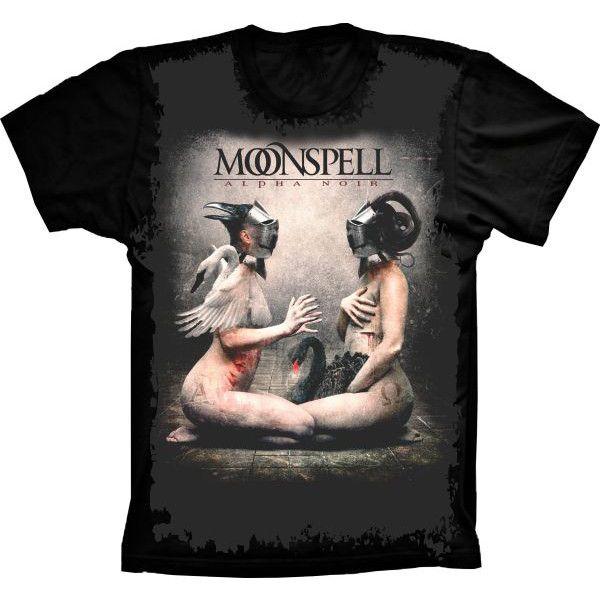 Camiseta Moonspell Alpha Noir