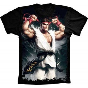 Camiseta Street Fighter Ryu