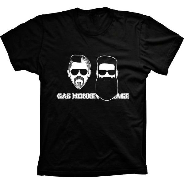 Camiseta Gas Monkey Dupla do Barulho