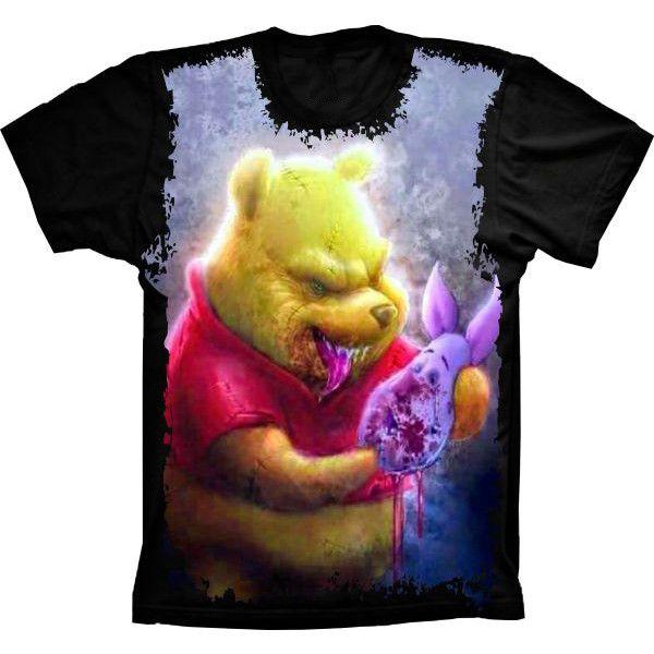 Camiseta Ursinho Pooh bad