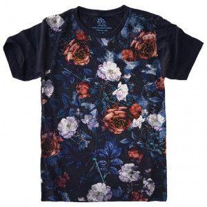 Camiseta Flores Floral S-432