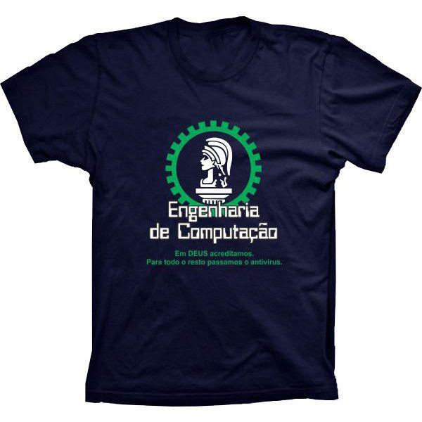 Camiseta Engenharia De Computação