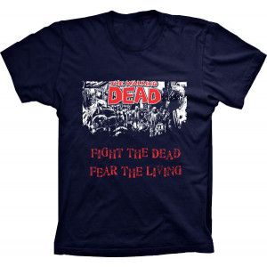 Camiseta The Walking Dead Fight the Dead
