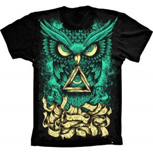Camiseta Owl Trance