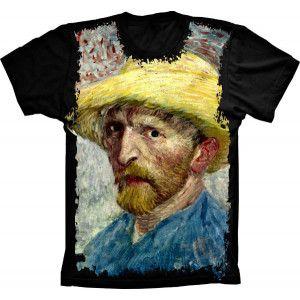 Camiseta Van Gogh Chapeu de Palha S-285