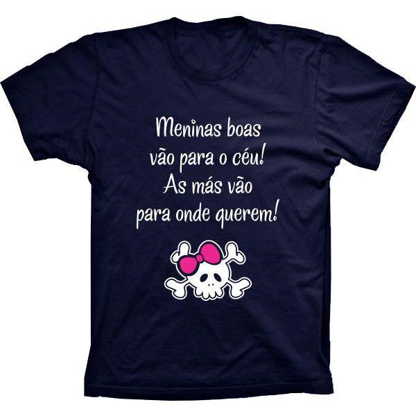 Camiseta Meninas Boas E Más