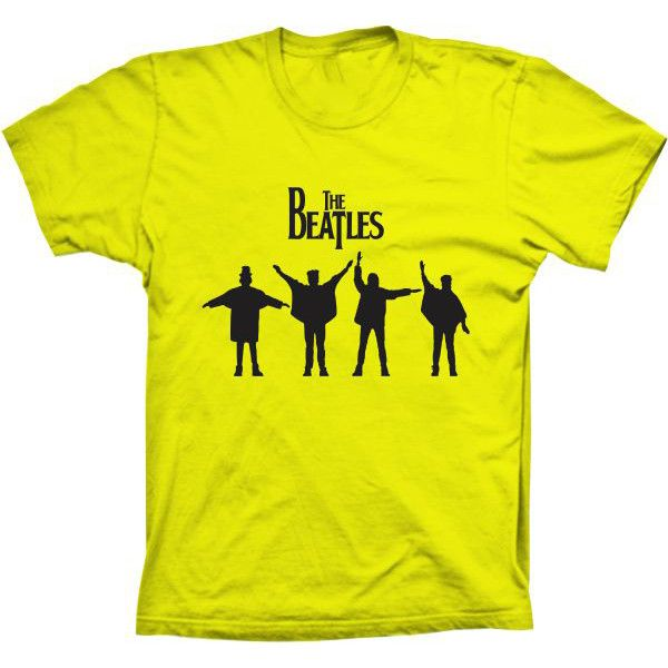 Camiseta The Beatles Help