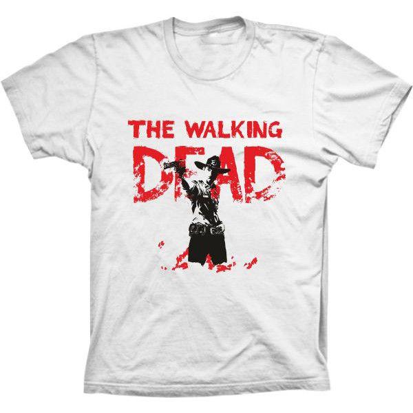Camiseta The Walking Dead Rick Zumbies