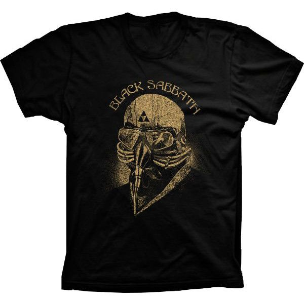 2a26d73b78b36 Camiseta Black Sabbath Homem de Ferro