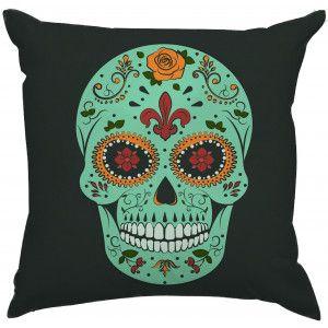 Almofada Caveira Mexicana