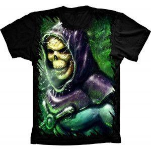 Camiseta Esqueleto He Man