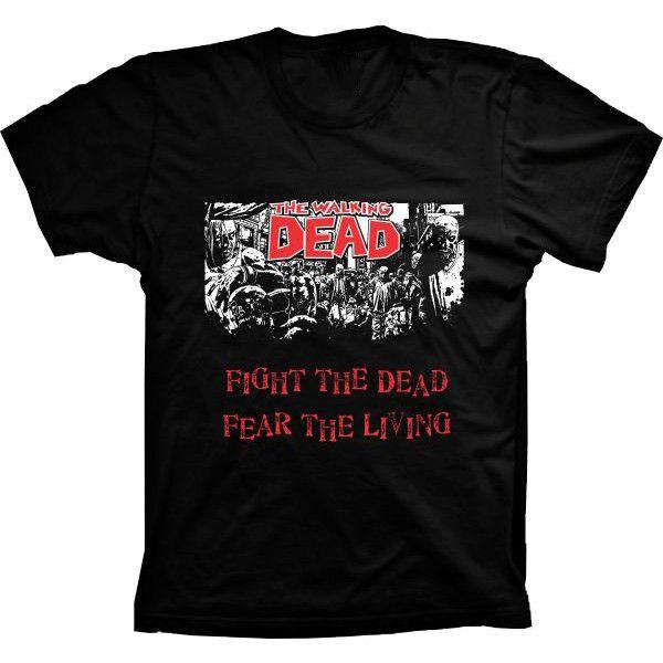 Camiseta The Walking Dead Fight the Dead