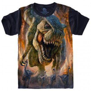 Camiseta Dinossauro Tiranossauro Rex S-467