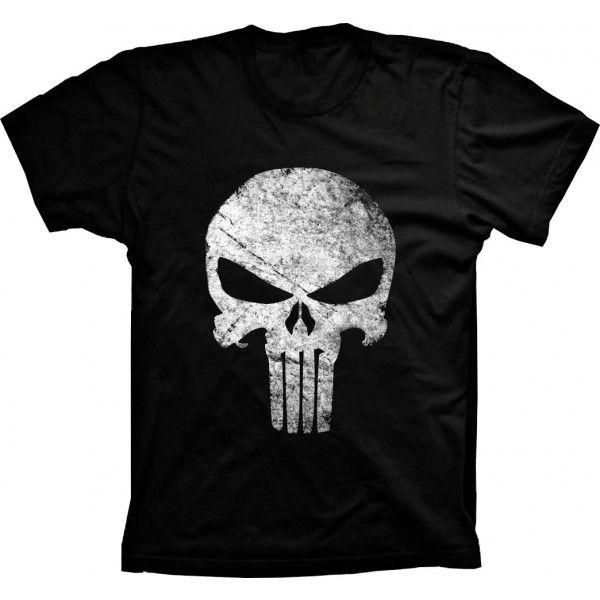 Camiseta Justiceiro The Punisher