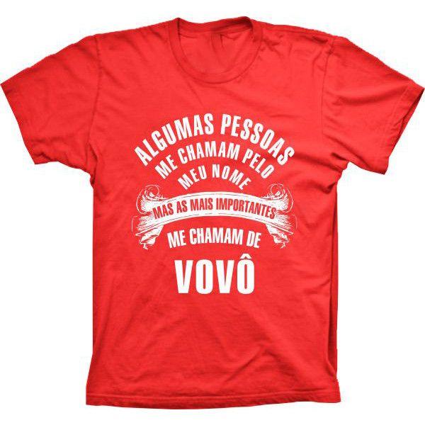Camiseta Pessoas Importantes Me Chamam de Vovô