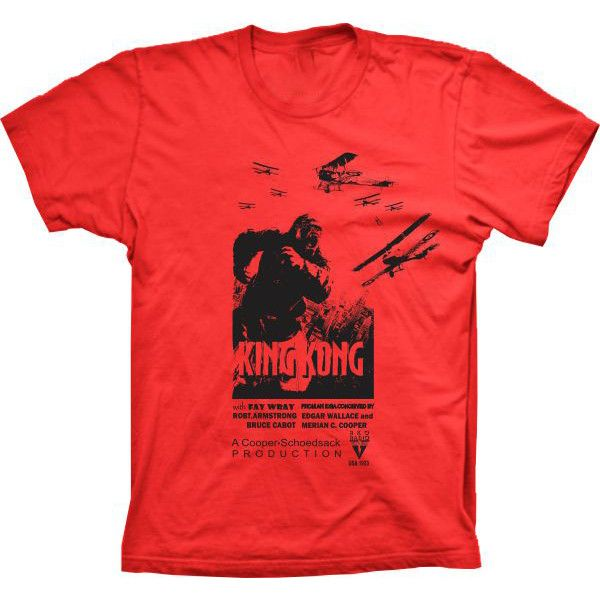 Camiseta King Kong