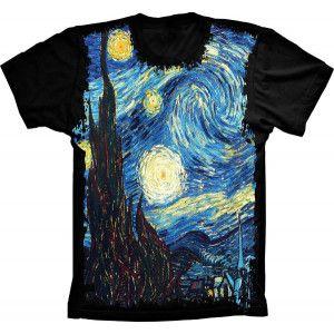 Camiseta Pintura Quadro