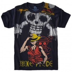 Camiseta Monkey D. Luffy One Piece S-457