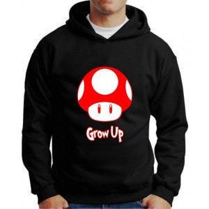 Moletom Super Mario Grow Up