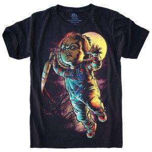 Camiseta Chuck O Brinquedo Assassino S-525