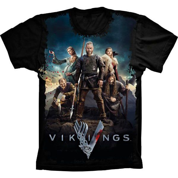 Camiseta Vikings