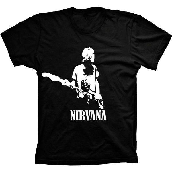 Camiseta Nirvana Kurt