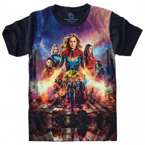 Camiseta Vingadores Avengers Marvel S-495