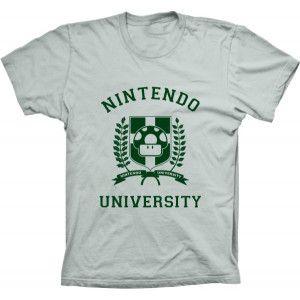 Camiseta Nintendo University