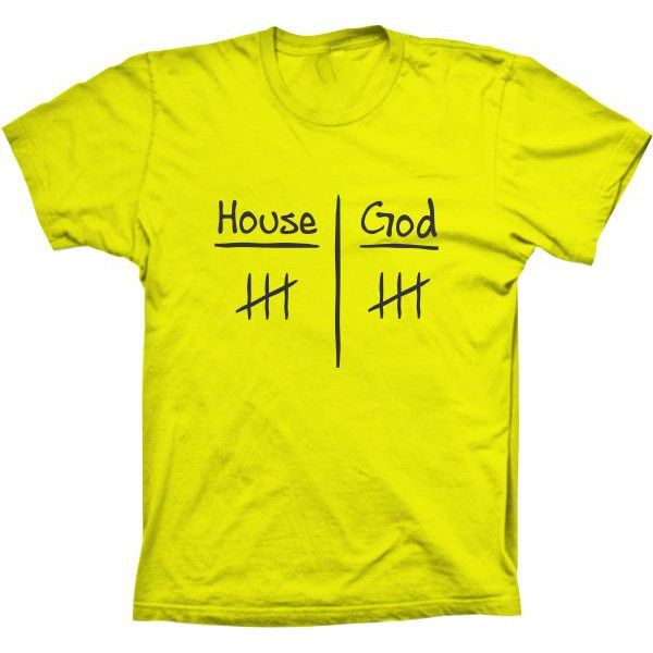 Camiseta Doctor House House X God