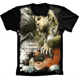 Camiseta Nirvana Kurt Cobain