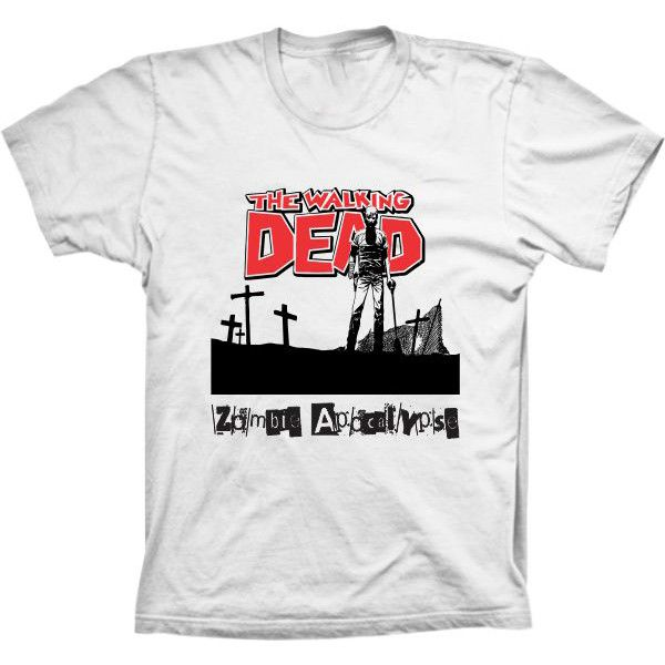 Camiseta The Walking Dead Zombie Apocalypse