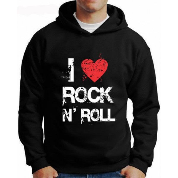 Moletom I Love Rock N'roll