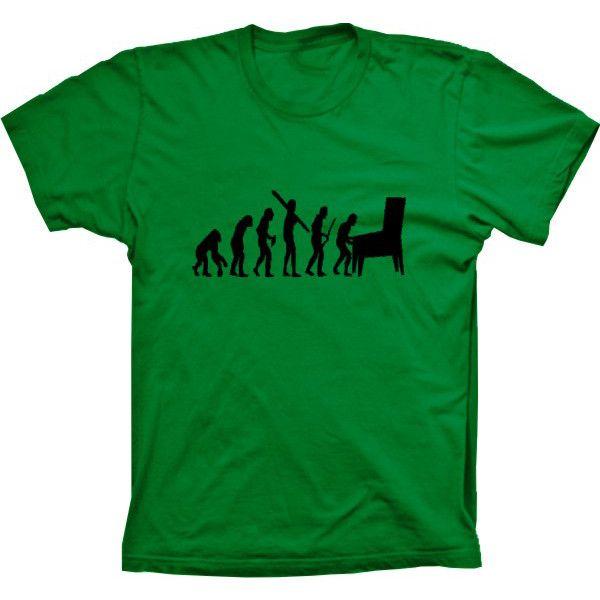 Camiseta Evolução Da Humanidade Jogos