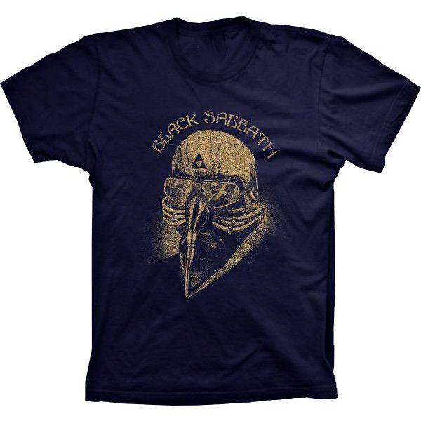 Camiseta Black Sabbath Homem de Ferro