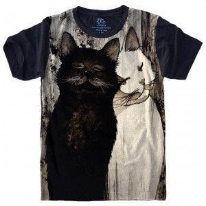 Camiseta Gato Cat S-471