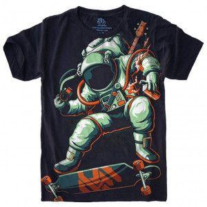 Camiseta Astronauta Skate S-452