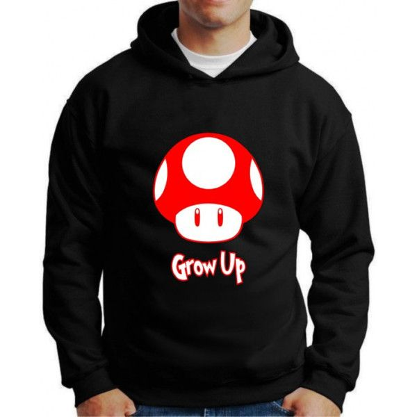 Moletom Super Mario Grow Up