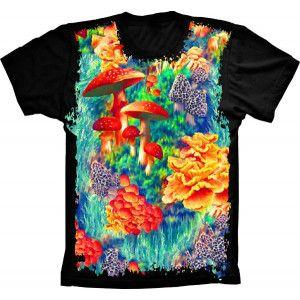 Camiseta Mushroom Ocean