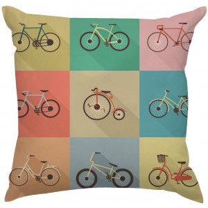 Almofada Bicicleta Retrô