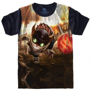 Camiseta ZIGGS League of Legends S-486