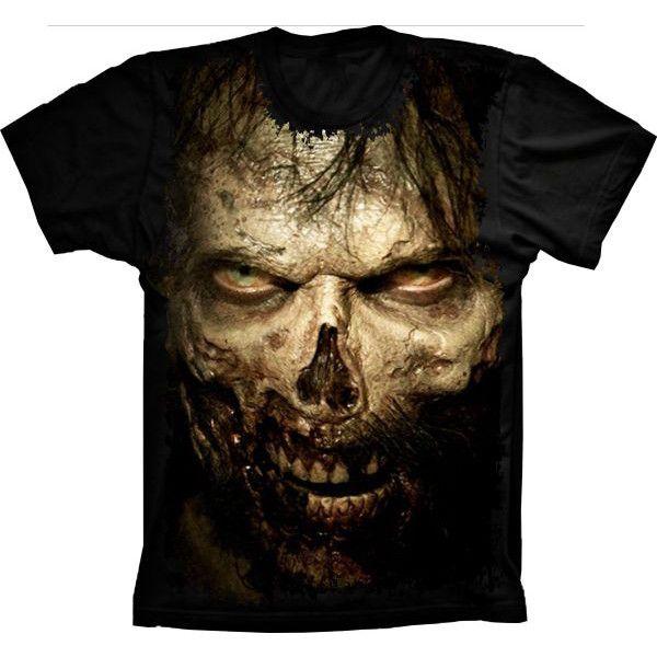 Camiseta Skull Zumbi