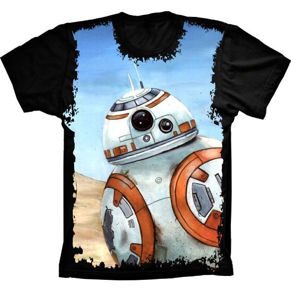Camiseta Star Wars Robô Sphero BB-8