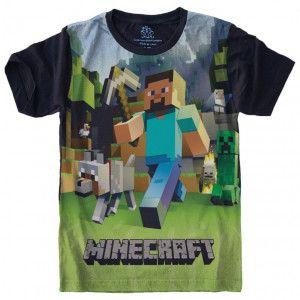 Camiseta Minecraft S-243