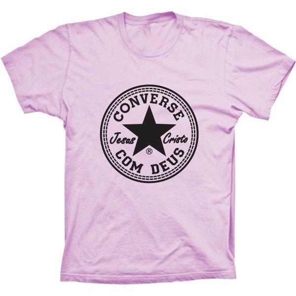 Camiseta Converse com Deus