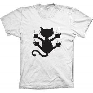 Camiseta Gato Deslizando