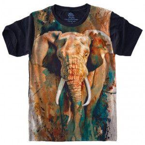 Camiseta Elefante Elephant S-462