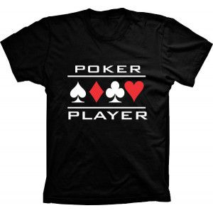 Camiseta Poker Player Naipe